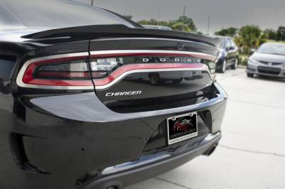 American Car Craft - American Car Craft Brushed Taillight Trim 4pc: Dodge Charger 2015 - 2021 - Image 5