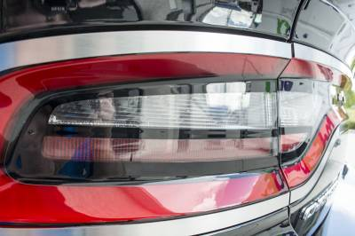 American Car Craft - American Car Craft Brushed Taillight Trim 4pc: Dodge Charger 2015 - 2021 - Image 2
