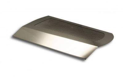 Dodge Charger Engine Accessories - Dodge Charger Stainless Accessories - American Car Craft - American Car Craft Perforated Plenum Cover: Dodge Charger / Chrysler 300 5.7L 2011 - 2020