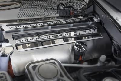 American Car Craft - American Car Craft Fuel Rail Overlays: Dodge Charger Hellcat 2015 - 2020 - Image 2