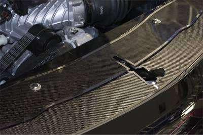 American Car Craft - American Car Craft Carbon Fiber Front Header Plate: Dodge Charger 2015 - 2020 - Image 3