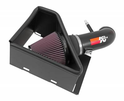 K&N Filters - K&N 77 Series Cold Air Intake: Dodge Ram 2500 / 3500 6.4L 2014 - 2018