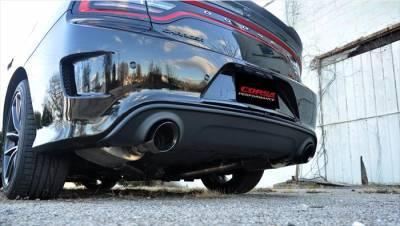 Corsa - Corsa Xtreme Exhaust System (Black): Chrysler 300C / Dodge Charger 6.2L & 6.4L Hemi 2015 - 2021 - Image 3