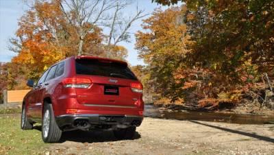 Corsa - Corsa Sport Cat-Back Exhaust (Black): Jeep Grand Cherokee 5.7L Hemi  2014 - 2020 (Summit Edition) - Image 2