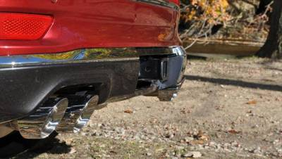 Corsa - Corsa Sport Cat-Back Exhaust (Polished): Jeep Grand Cherokee 5.7L Hemi  2014 - 2020 (Summit Edition) - Image 3