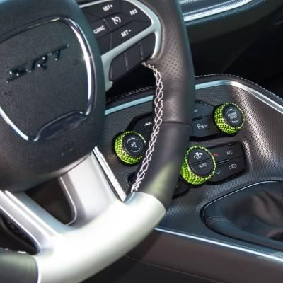American Brother Designs - American Brother Designs Interior Knob Kit (Carbon Fiber): Dodge Charger 2015 - 2020 - Image 2