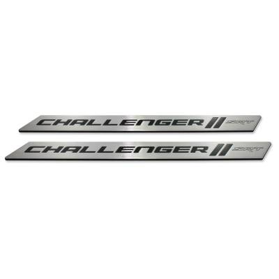 "American Brother Designs - American Brother Designs ""SRT"" Door Sills: Dodge Challenger 2008 - 2020 - Image 2"