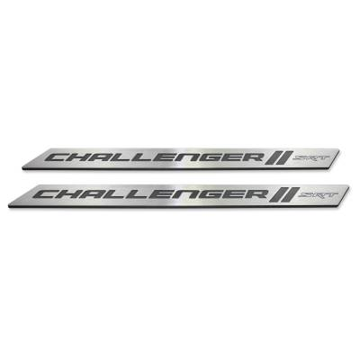 "American Brother Designs - American Brother Designs ""SRT"" Door Sills: Dodge Challenger 2008 - 2020 - Image 3"