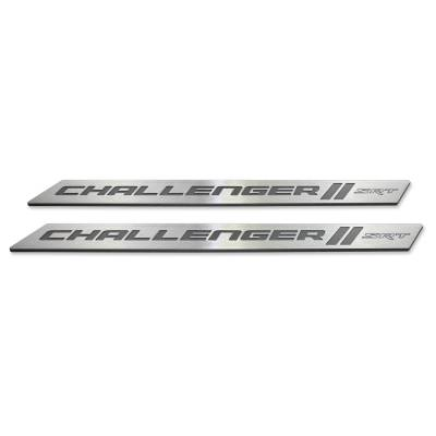 "American Brother Designs - American Brother Designs ""SRT"" Door Sills: Dodge Challenger 2008 - 2020 - Image 4"