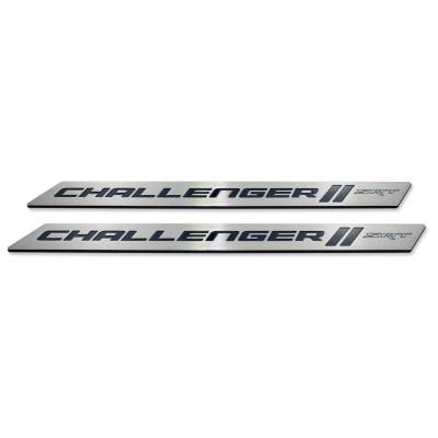 "American Brother Designs - American Brother Designs ""SRT"" Door Sills: Dodge Challenger 2008 - 2020 - Image 5"