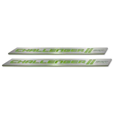 "American Brother Designs - American Brother Designs ""SRT"" Door Sills: Dodge Challenger 2008 - 2020 - Image 6"