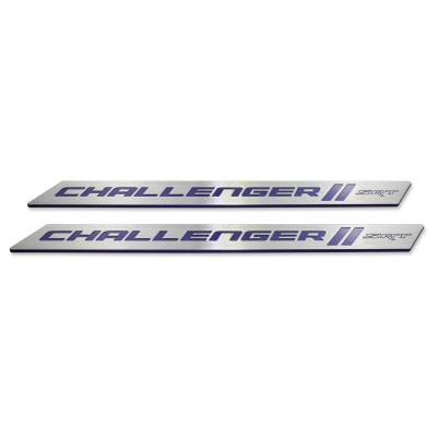 "American Brother Designs - American Brother Designs ""SRT"" Door Sills: Dodge Challenger 2008 - 2020 - Image 7"