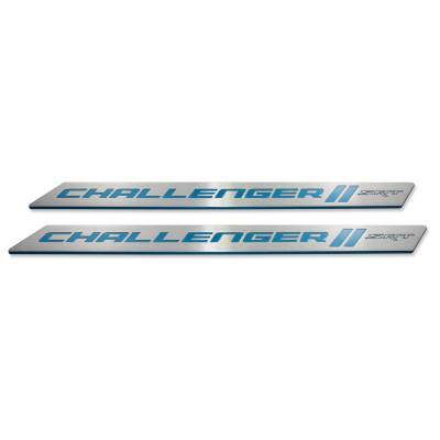 "American Brother Designs - American Brother Designs ""SRT"" Door Sills: Dodge Challenger 2008 - 2019"