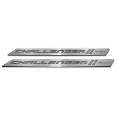 "American Brother Designs - American Brother Designs ""SRT"" Door Sills: Dodge Challenger 2008 - 2020 - Image 10"