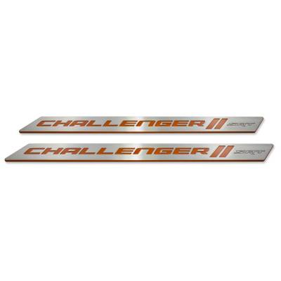 "American Brother Designs - American Brother Designs ""SRT"" Door Sills: Dodge Challenger 2008 - 2020 - Image 11"