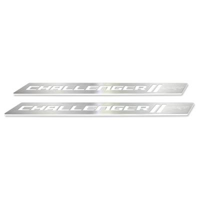 "American Brother Designs - American Brother Designs ""SRT"" Door Sills: Dodge Challenger 2008 - 2020 - Image 12"