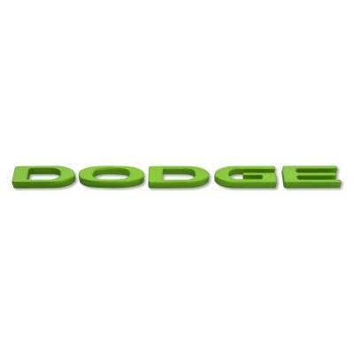 """American Brother Designs - American Brother Designs """"Dodge Logo""""  Exterior Trunk Badge: Dodge Challenger 2015 - 2020 - Image 6"""