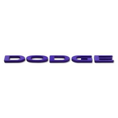 """American Brother Designs - American Brother Designs """"Dodge Logo""""  Exterior Trunk Badge: Dodge Challenger 2015 - 2020 - Image 7"""