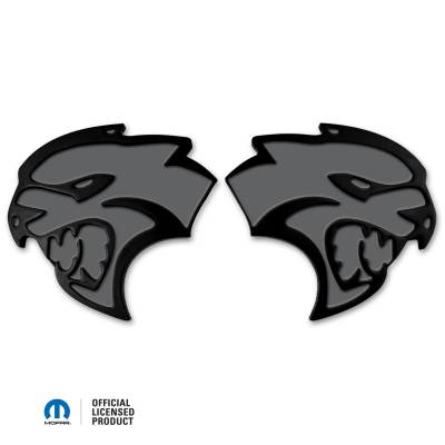 "American Brother Designs - American Brother Designs ""Hellcat""  Exterior Badge: Dodge Challenger & Charger 2015 - 2020 - Image 3"