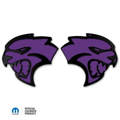 "American Brother Designs - American Brother Designs ""Hellcat""  Exterior Badge: Dodge Challenger & Charger 2015 - 2021 - Image 6"