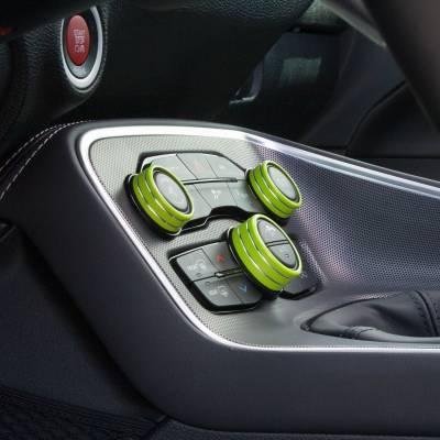 American Brother Designs - American Brother Designs Interior Knob Kit: Dodge Challenger 2015 - 2021 - Image 3