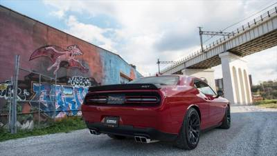 Corsa - Corsa Sport Cat-Back Exhaust (Polished): Dodge Challenger 6.4L ScatPack, SRT & 6.2L Hellcat 2015 - 2021 - Image 3