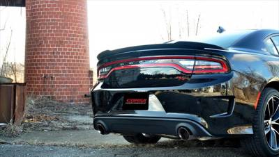 Corsa - Corsa Sport Cat-Back Exhaust (Polished): Dodge Charger ScatPack, SRT & Hellcat 2015 - 2021 - Image 2
