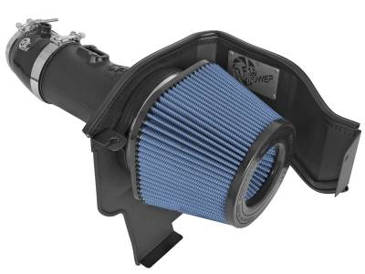Dodge Challenger Engine Performance - Dodge Challenger Air Intake & Filter - AFE Power - AFE Magnum Force Stage-2 Pro 5R Cold Air Intake: Dodge Challenger / Charger Hellcat 6.2L 2015 - 2017
