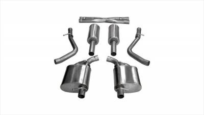 Corsa - Corsa Extreme Cat-Back Exhaust: Chrysler 300C / Dodge Charger R/T 5.7L Hemi 2015 - 2018