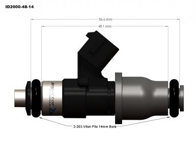 injector dynamics - Injector Dynamics Injectors: Chrysler 300C / Dodge Charger / Magnum 2005 - 2010 (6.1L SRT8) - Image 7