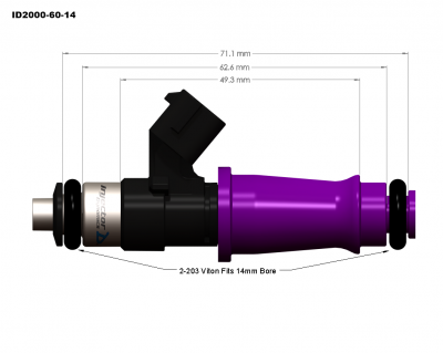 injector dynamics - Injector Dynamics Injectors: Dodge Ram SRT-10 / Viper 1996 - 2006 - Image 2