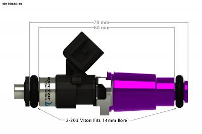 injector dynamics - Injector Dynamics Injectors: Dodge Ram SRT-10 / Viper 1996 - 2006 - Image 3
