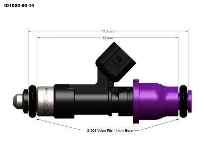 injector dynamics - Injector Dynamics Injectors: Dodge Ram SRT-10 / Viper 1996 - 2006 - Image 5