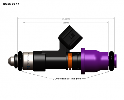 injector dynamics - Injector Dynamics Injectors: Dodge Ram SRT-10 / Viper 1996 - 2006 - Image 7