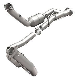 5.7L / 6.1L / 6.4L Hemi Engine Parts - Hemi Headers & Mid Pipes - Magnaflow - MagnaFlow Catalytic Converter: Jeep Grand Cherokee / Commander 2006 - 2010 5.7L Hemi