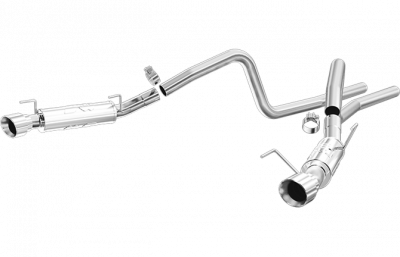 Magnaflow - Magnaflow Dual Exhaust System: Dodge Ram 5.7L Hemi 2004 - 2005