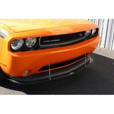 APR - APR Carbon Fiber Front Wind Splitter w/ Rods: Dodge Challenger R/T & SXT 2011 - 2014 - Image 3