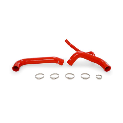 DODGE CHARGER PARTS - Dodge Charger Cooling Parts - Mishimoto - Mishimoto Silicone Radiator Hoses Kit: Dodge Challenger & Charger 6.2L SRT Hellcat 2015 - 2018