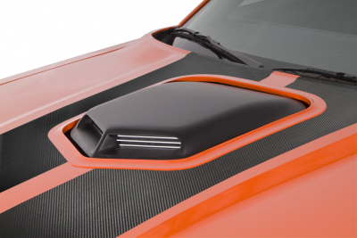 HEMI EXTERIOR PARTS - Hemi Hoods - Cervini's - Cervinis Shaker Hood Kit: Dodge Challenger 2008 - 2019 (All Models)
