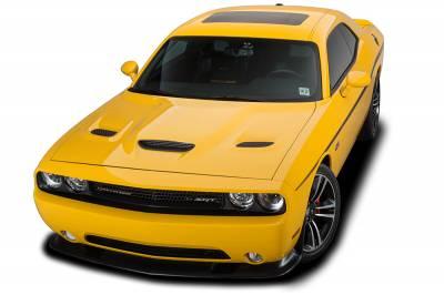 Cervini's - Cervinis Hellcat Hood: Dodge Challenger 2008 - 2020 (All Models) - Image 3