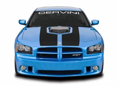 Cervini's - Cervinis Shaker Hood Kit: Dodge Charger 2006 - 2010 (Excl. V6) - Image 4