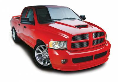 HEMI EXTERIOR PARTS - Hemi Hoods - Cervini's - Cervinis SRT10 Hood: Dodge Ram 2002 - 2008 (1500 Models Only)