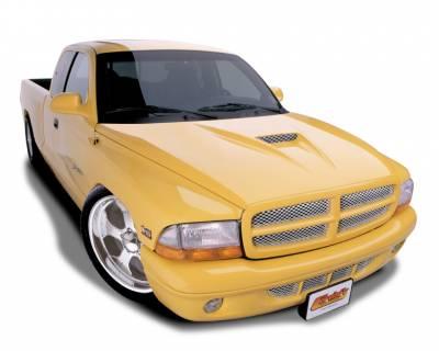 Dodge Dakota Exterior Parts - Dodge Dakota Hood - Cervini's - Cervinis SS Hood: Dodge Dakota 1997 - 2004
