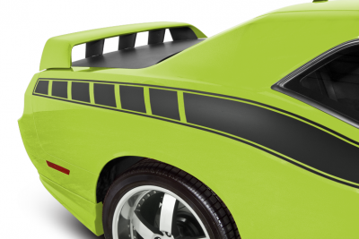 HEMI EXTERIOR PARTS - Hemi Trim Accessories - Cervini's - Cervinis C440 Rear Spoiler: Dodge Challenger 2008 - 2020 (All Models)