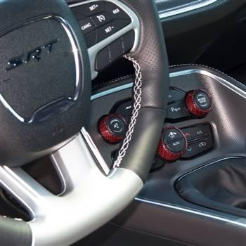 American Brother Designs - American Brother Designs Interior Knob Kit (Carbon Fiber): Dodge Challenger 2015 - 2020 - Image 17