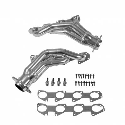 5.7L / 6.1L / 6.4L Hemi Engine Parts - Hemi Headers & Mid Pipes - BBK Performance - BBK Performance Shorty Headers: 300 / Challenger / Charger 6.4L SRT & ScatPack 2011 - 2019