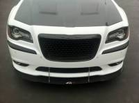 CHRYSLER 300 / 300C PARTS - Chrysler 300 Carbon Fiber Parts - Chrysler 300 Carbon Fiber Wind Splitter