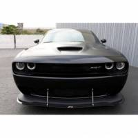 DODGE CHALLENGER PARTS - Dodge Challenger Carbon Fiber Parts - Dodge Challenger Carbon Fiber Wind Splitter