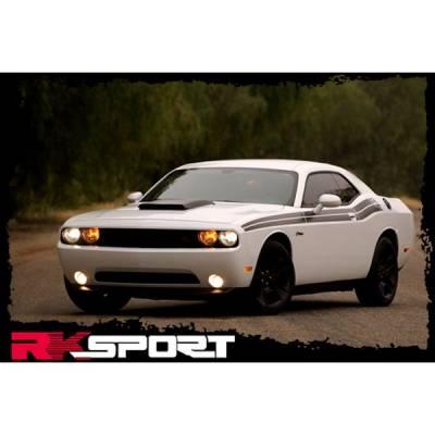 RK Sport - RK Sport Carbon Fiber Blister Ram Air Hood: Dodge Challenger 2008 - 2019 - Image 2
