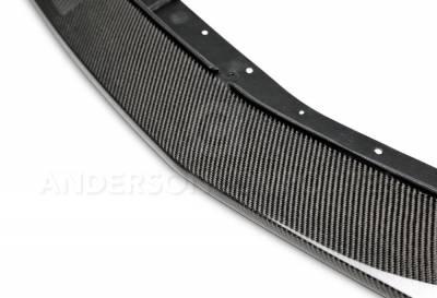 Anderson Composites - Anderson Composites OEM Carbon Fiber Front Lip: Dodge Challenger 2008 - 2010 - Image 3